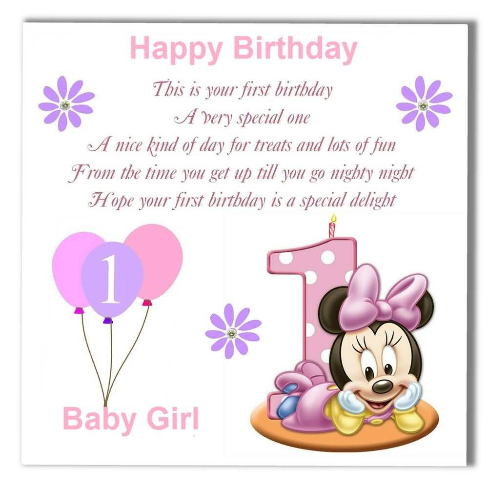 Birthday Wishes For Baby Girl | Nicewishes.com