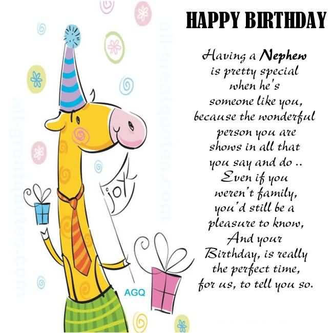 Birthday Wishes For Nephew Page 7 Nicewishes Com