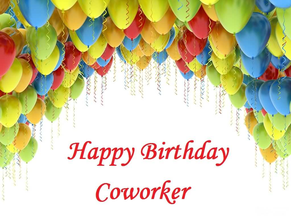Sweet E-Card Birthday Wishes For Coworker
