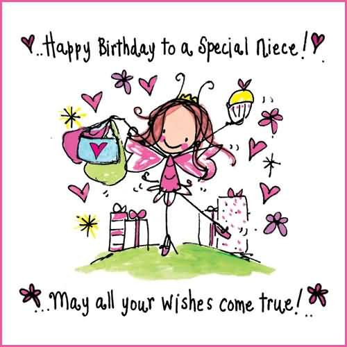 Sweet e card birthday wishes for special niece nicewishes sweet e card birthday wishes for special niece m4hsunfo