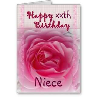 Wonderful E-Card Birthday Wishes For Niece