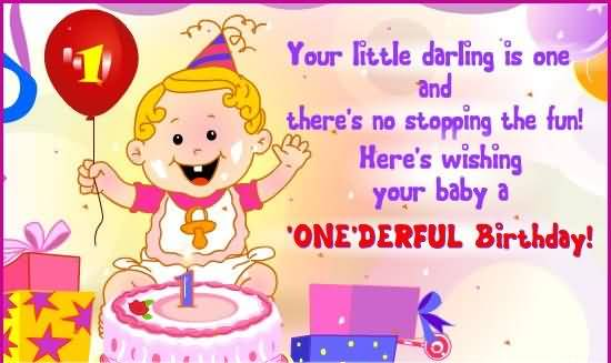 Wonderful Greetings Birthday Wishes For Baby Boy NiceWishes – 1st Birthday Greetings for Baby Boy
