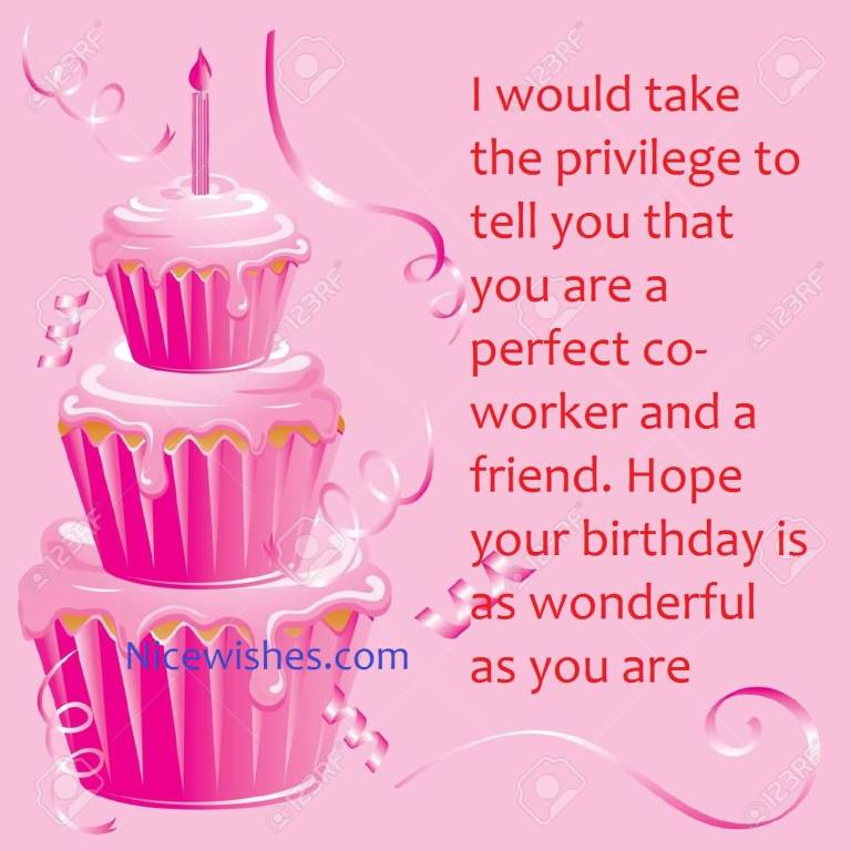 birthday wishes for coworker wonderful greetings birthday wishes for ...
