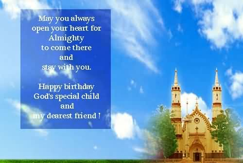Awesome Birthday Wishes For Christian Friend