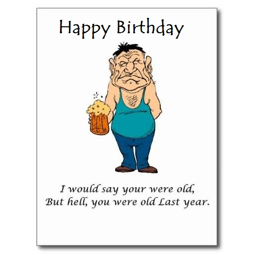 Funny Birthday Jokes Archives Page 3 NiceWishes – Funny Birthday Cards for Old People