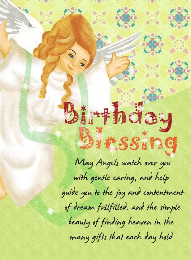 Beautiful Blessing Birthday Wishes For Christian