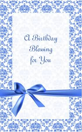Best Blessing E-Card Birthday Wishes For Christian