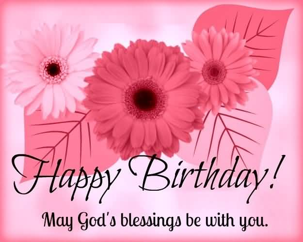 God's Blessings Birthday Wishes For Christian
