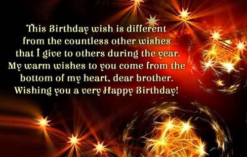 Lovely Birthday Wishes For Christian Brother
