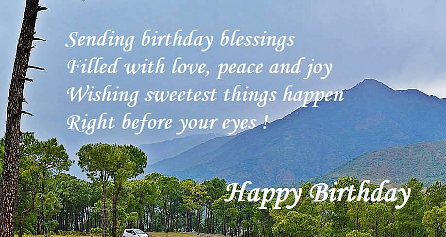 Nice Blessings Birthday Wishes For Christian