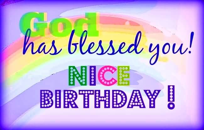 Nice E-Card Birthday Wishes For Christian Friend