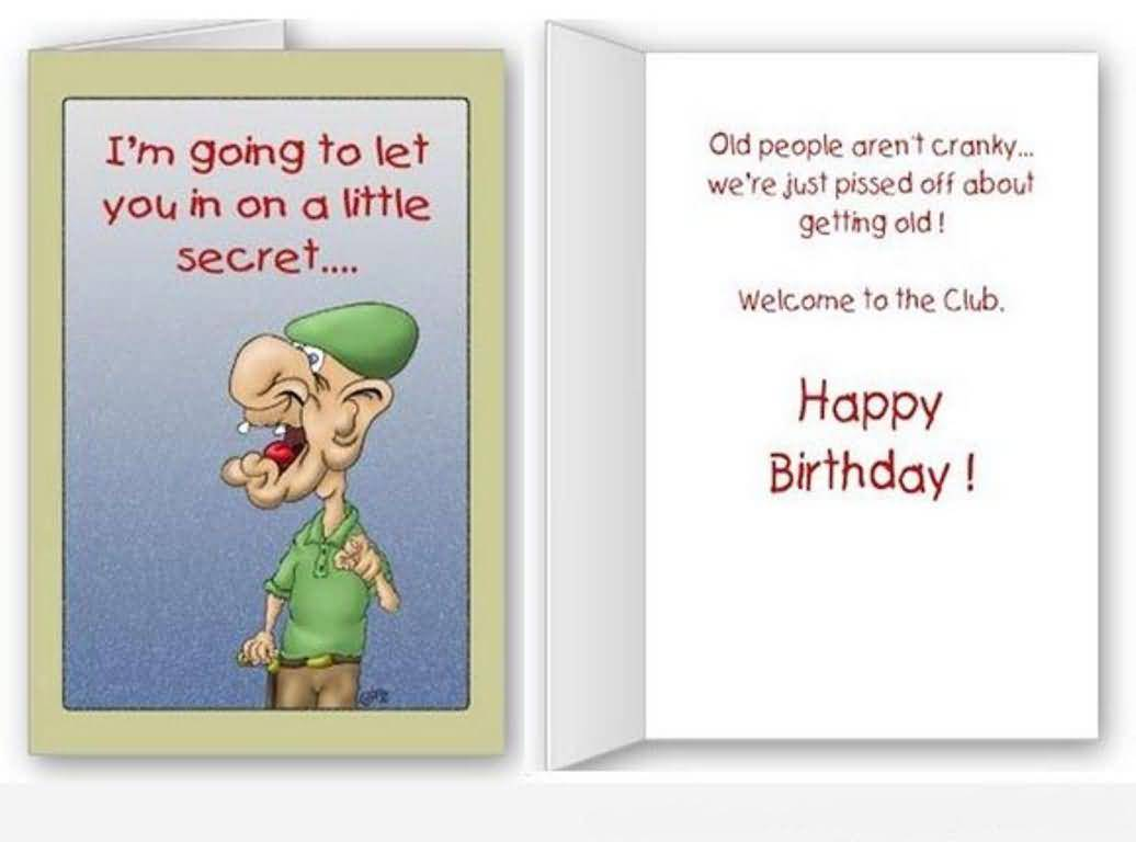 Funny Birthday Card Messages gangcraftnet – Happy Birthday Card Message