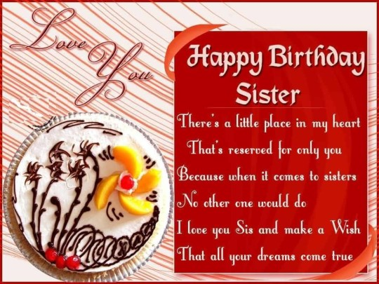 Awesome Birthday Quotes For My Best Sister