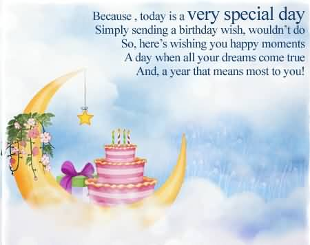 Beautiful Birthday Poems For Special Person