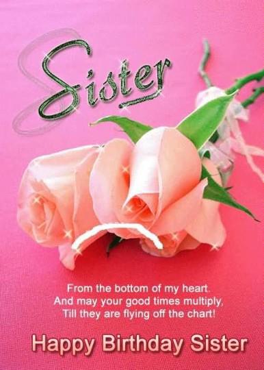 Beautiful Greetings Birthday Quotes For Sister