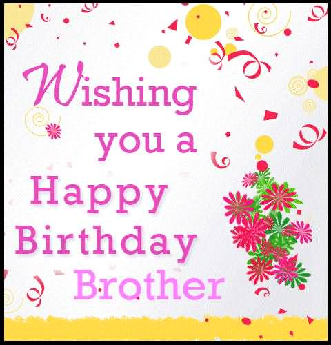 Nice Birthday Cards For Awesome Brother - NiceWishes