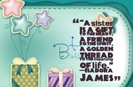 Best Birthday Quotes For Sister Wallpaper