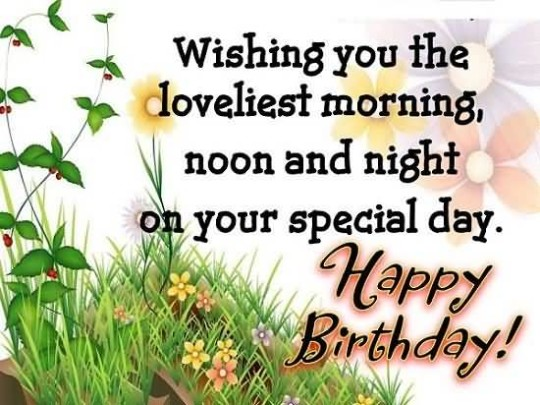 Cute birthday wishes for friends on facebook