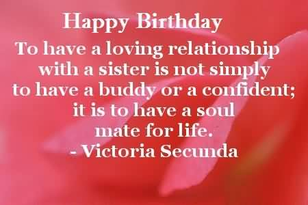 Brilliant Birthday Quotes For Sister
