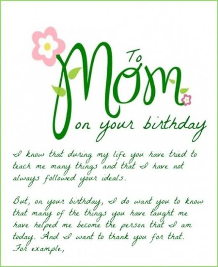 Sweet Mom Birthday Quotes: Best Birthday Poems For My Sweet Mother