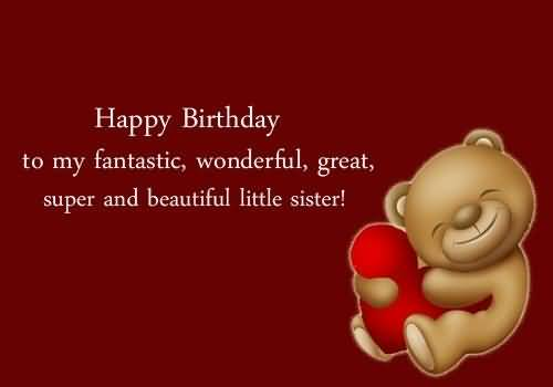 Cute Image Birthday Quotes For Sister