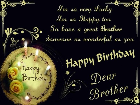 Birthday Cards For A Brother gangcraftnet – Birthday Cards for Brother