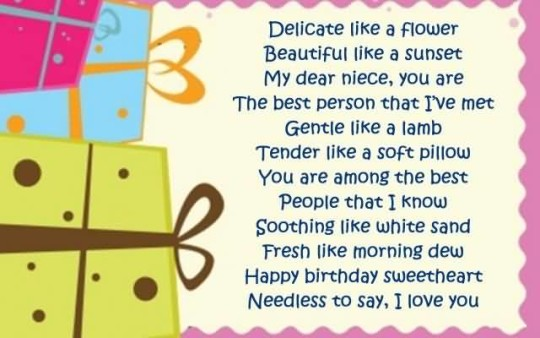 Great Birthday Poems For Wife
