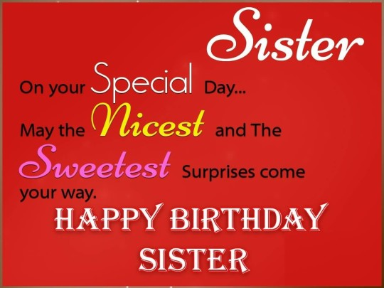 Mind Blowing Birthday Quotes For Sister Graphic