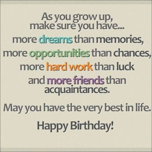 Nice Message Birthday Wishes For Facebook Friend Nice Wishes