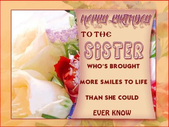Superb Wallpaper Birthday Quotes For Sister