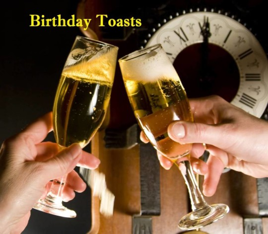 Sweet Birthday Toasts Image
