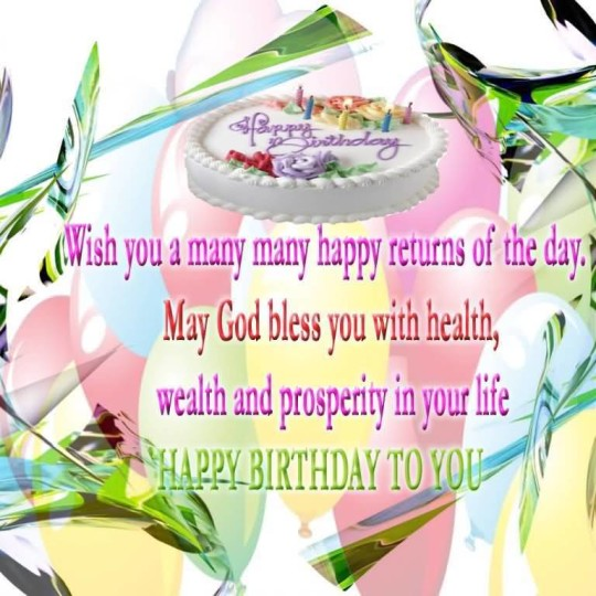 Unique Wallpaper Birthday Wishes For Facebook Friend
