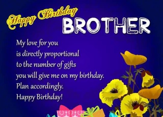 Amazing Birthday Quotes For Brother