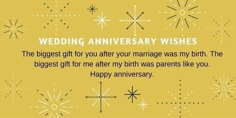 Amazing Graphic Anniversary Wishes For Parents
