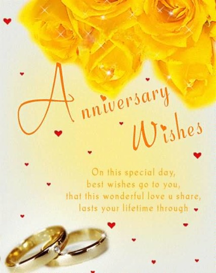 Amazing Greetings Anniversary Wishes For  Wife