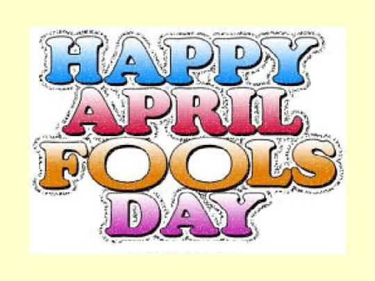 Amazing Happy April Fool Graphic