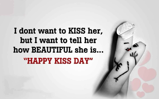 Amazing Happy Kiss Day Image