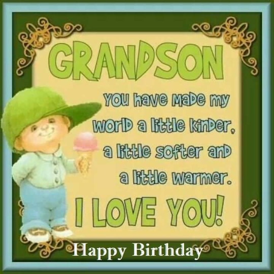 awesome e card birthday quotes for grandson nice wishes