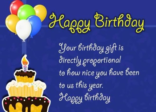 Awesome E-Card Birthday Wishes For Employer