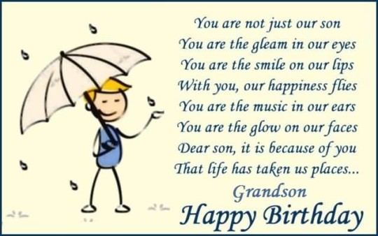 awesome graphic birthday quotes for grandson nice wishes