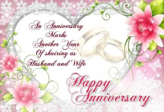 Awesome greetings anniversary wishes for special couple