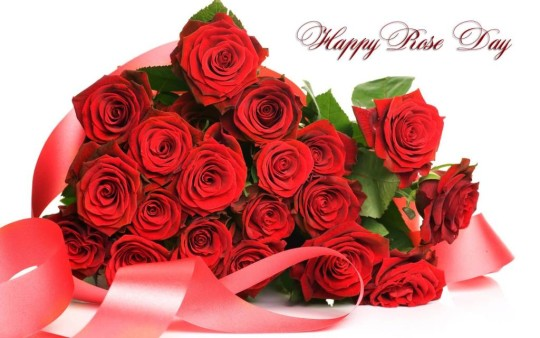 Awesome Happy Rose Day Wallpaper