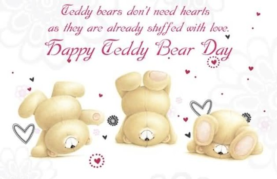 Awesome Happy Teddy Bear Day Image