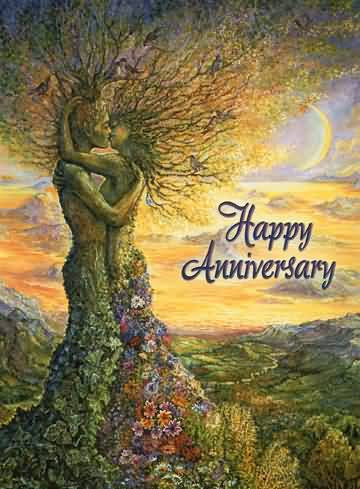 Beautiful Anniversary Wishes For Friends Picture