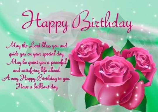 Beautiful Birthday Quotes For Christian