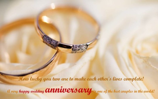 Beautiful Greetings Anniversary Wishes For Couple