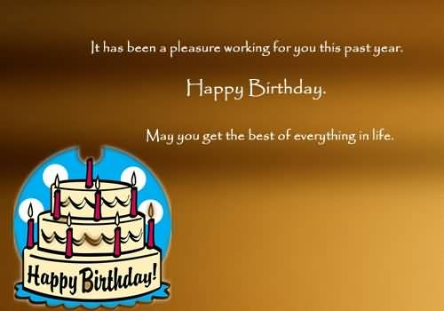 Beautiful Greetings Birthday Wishes For Employer