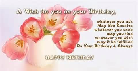 Beautiful Image Birthday Quotes