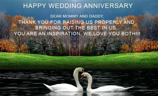 Best Anniversary Wishes For Parents Wallpaper