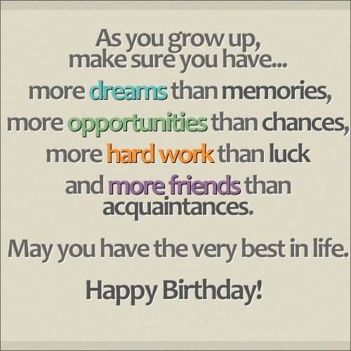 Best Birthday Quotes For Kids